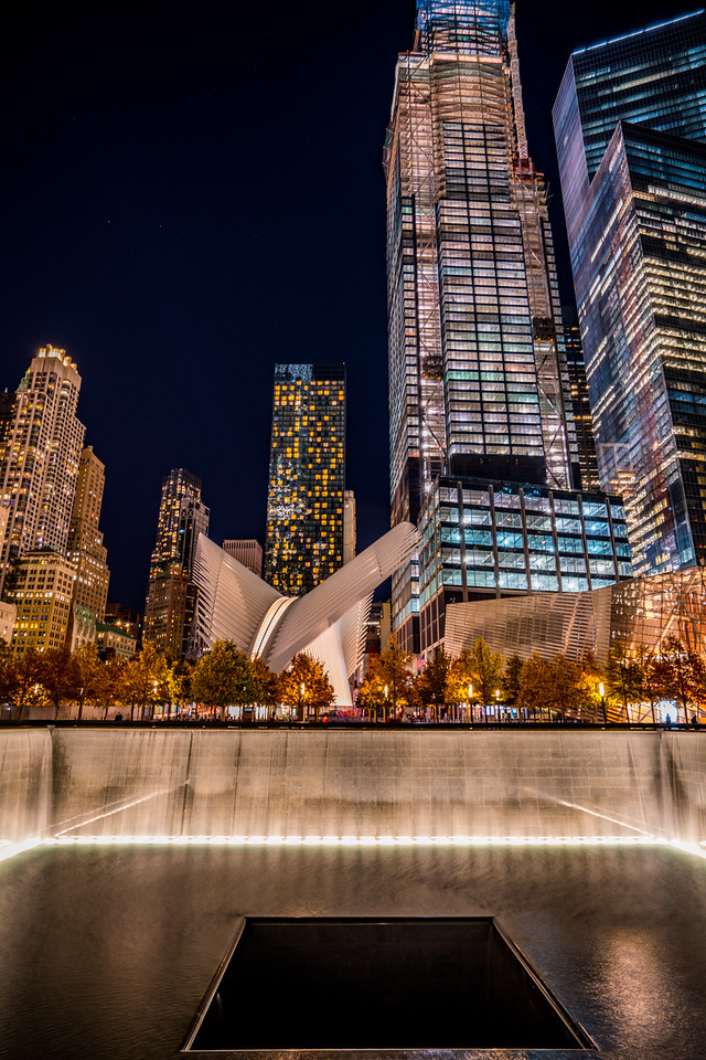 911 memorial and the Oculus