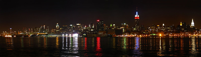NYC - Hoboken  NJ view