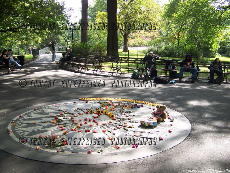 Imagine, Strawberry Fields, NYC