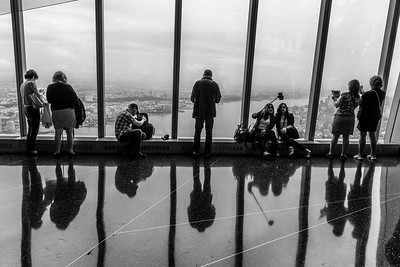 Window of activities at One World Observatory