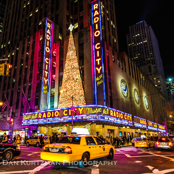 Radio City Music Hall at Christmastime