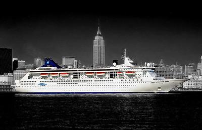 Cruise ship NYC
