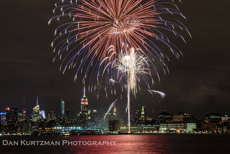 Fireworks Over the Hudson, New York City