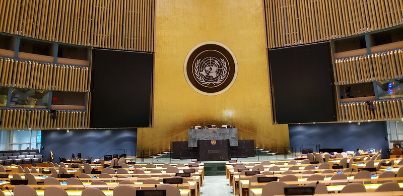 The General Assembly of the UN