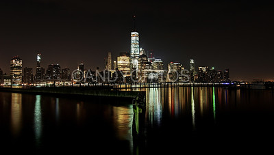 Downtown Manhattan at Night