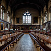 Balliol College Dining Hall, Oxford, UK.