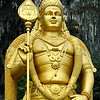 Golden Statue of Murugan