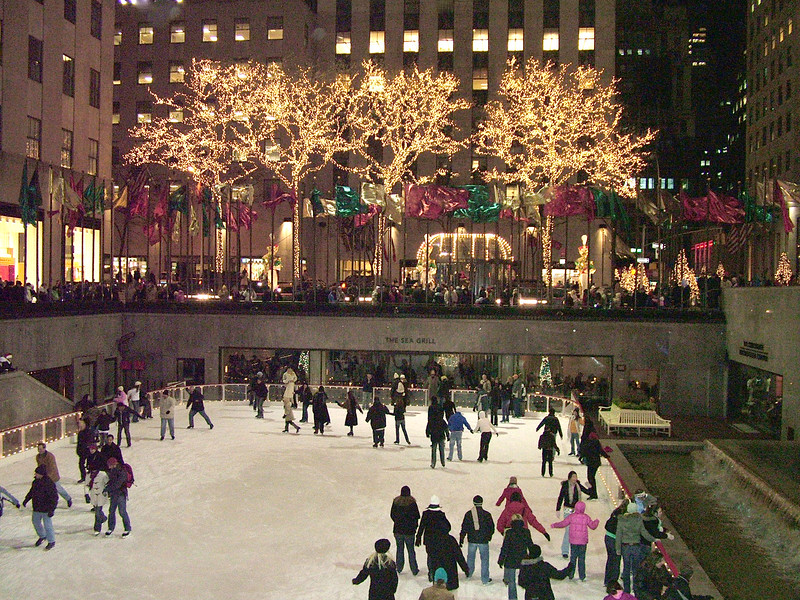 winter @ Rockerfeller Center - NYC