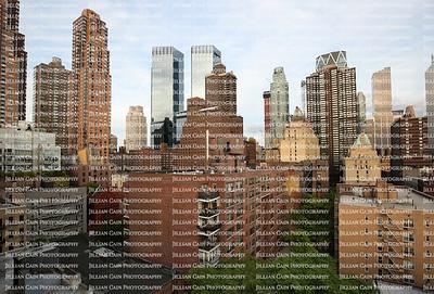Midtown New York Skyline