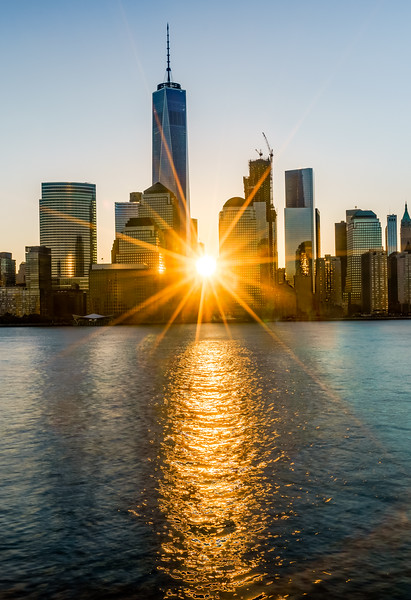 Good Morning New York (Vertical Crop)