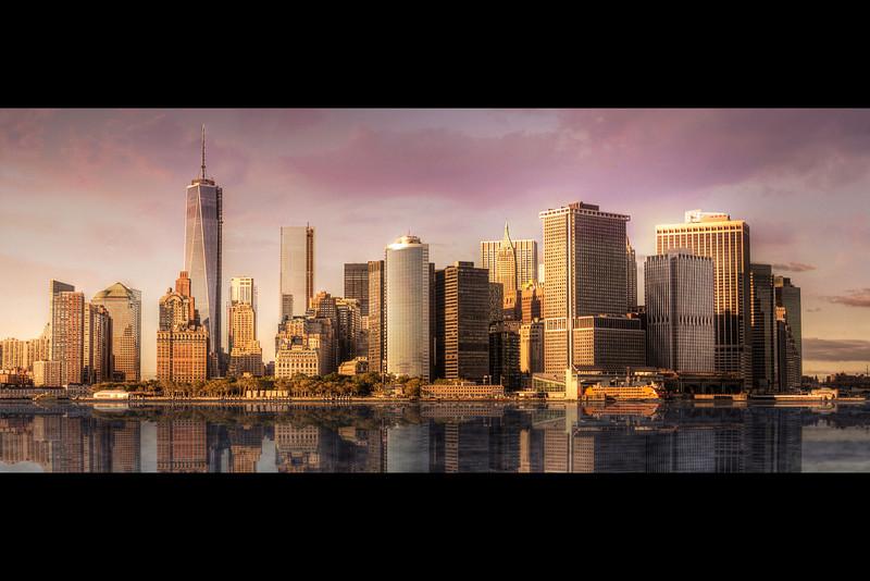 Manhattan Skyline from Governor's Island