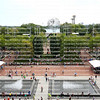 Aerial view of the Billie Jean King National Tennis Center, home of the US Open