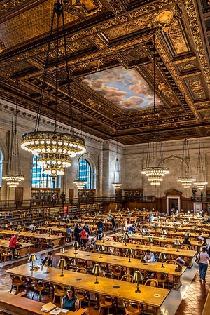 New York Public Library's Rose Main Reading Room