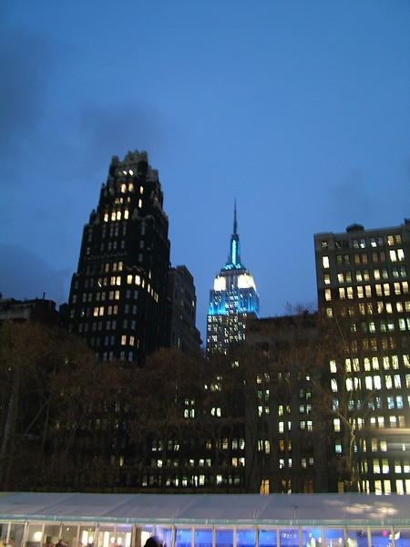 Empire State Building - from Bryant Park - NYC