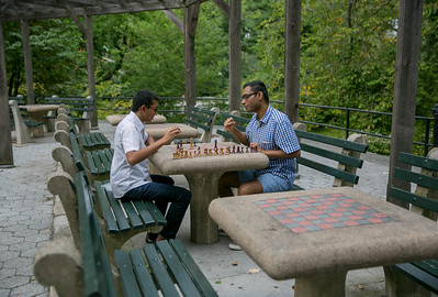 The Chess House in Central Park