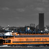 Statue of Liberty and the Staten Island Ferry