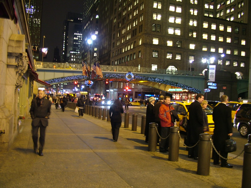 outside Grand Central Station - NYC