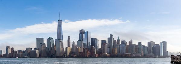 New York Skyline from Jersey City
