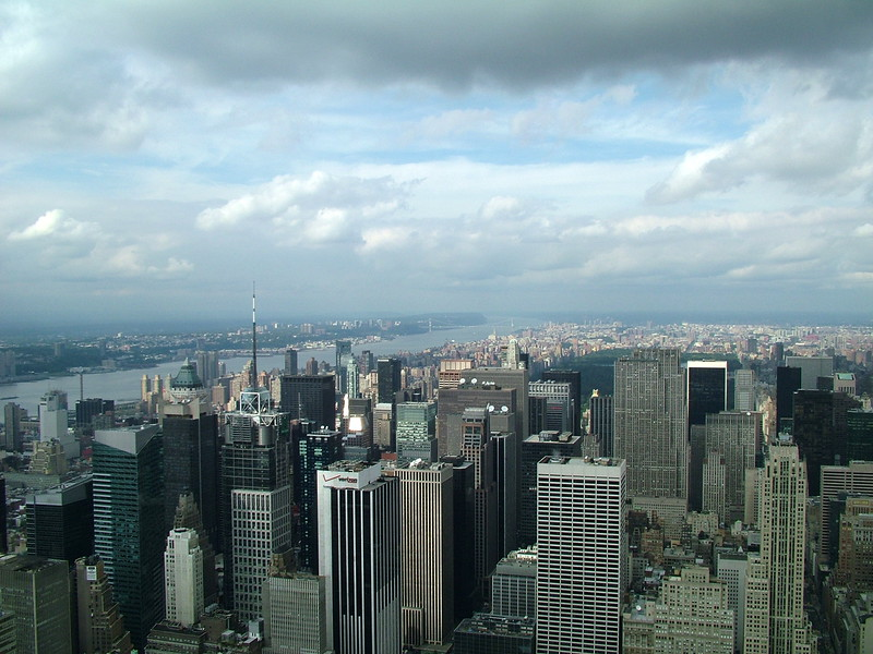 top of Empire State Building - NYC