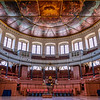 Sheldonian Theatre, Oxford, UK.