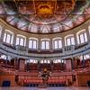 Sheldonian Theatre, Oxford, UK.