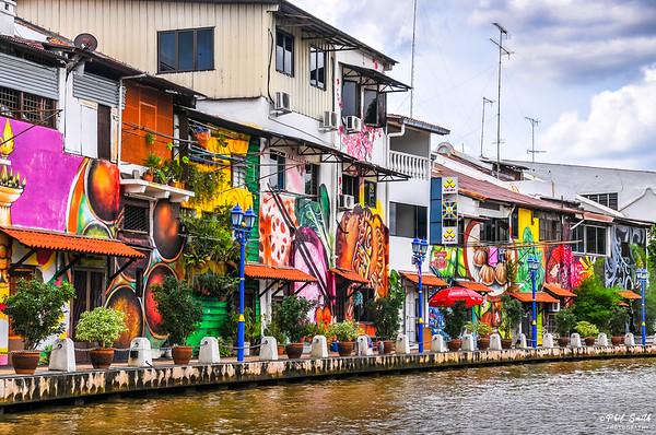 Urban Art, Malacca, Malaysia