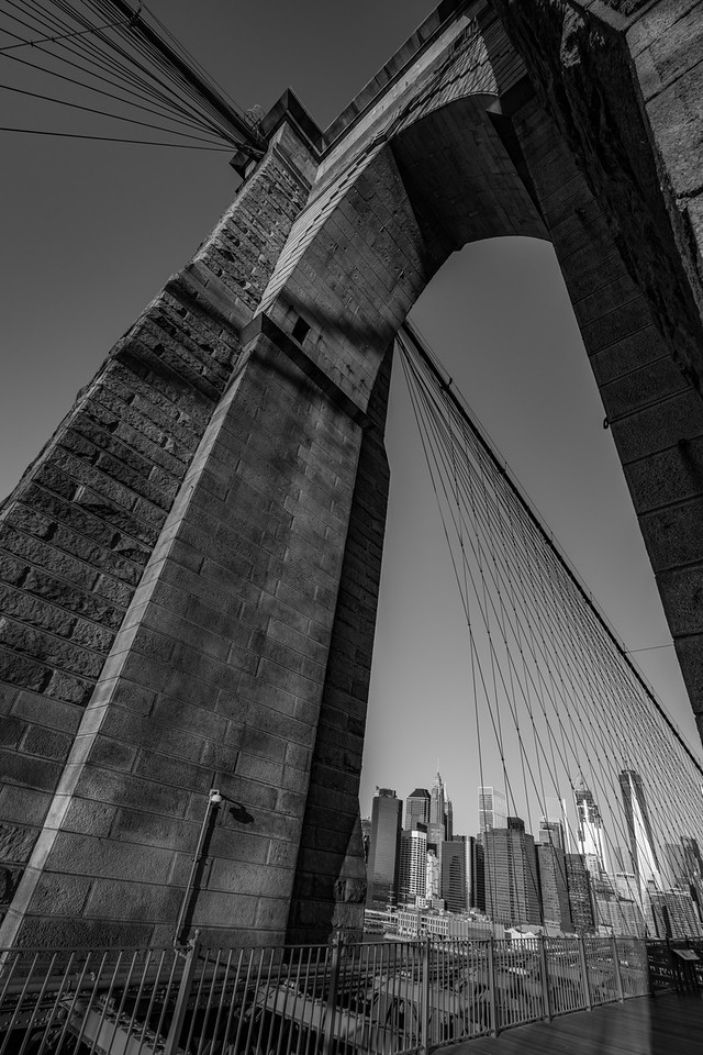 Brooklyn Bridge structure