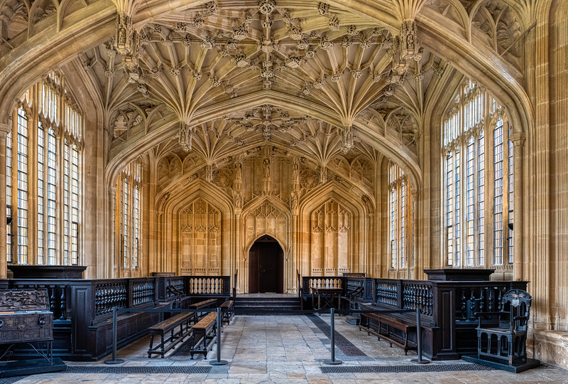 The Divinity School, Oxford, UK.
