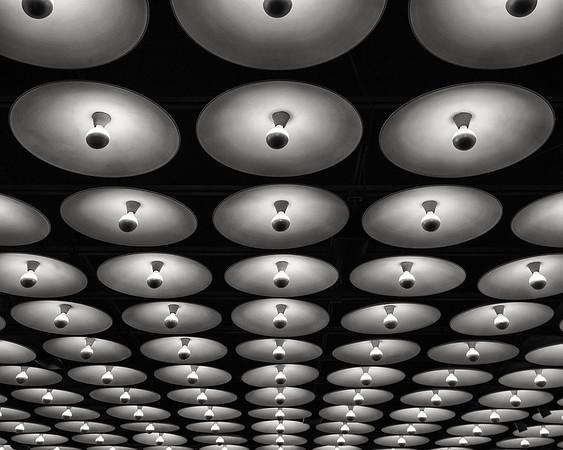 lights at Met Breuer Museum