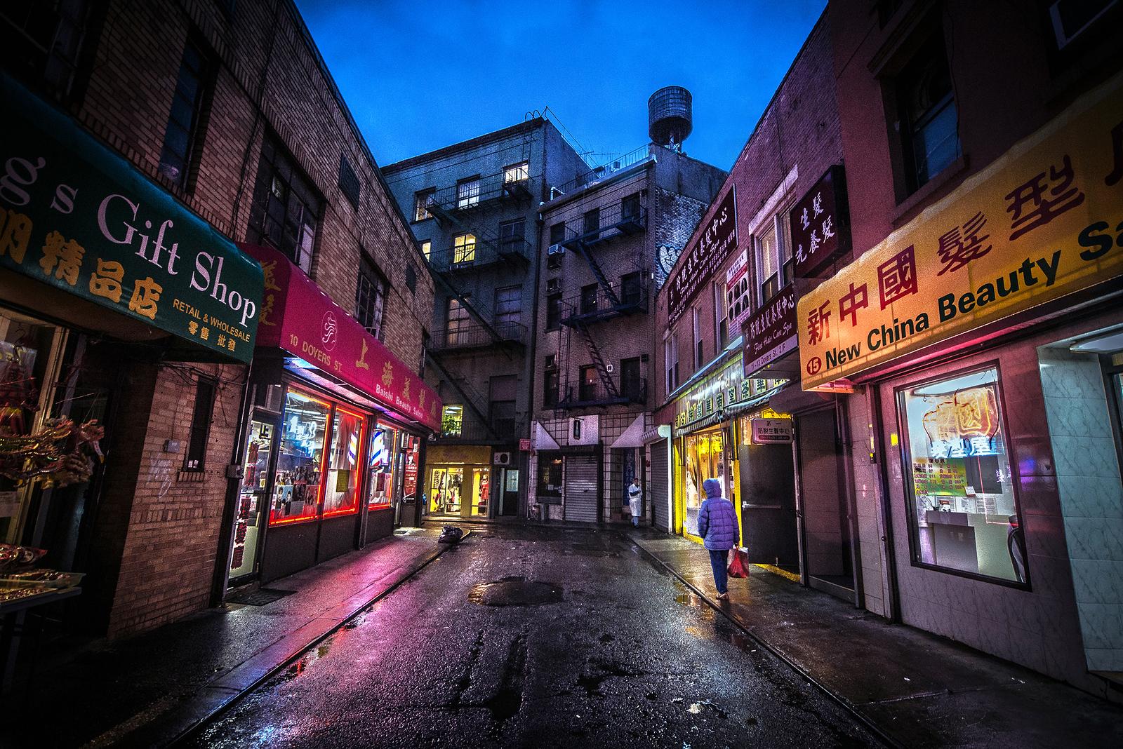 Chinatown, Doyers st, NYC
