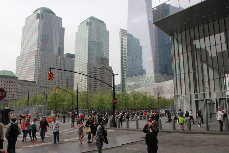 outside Ground Zero