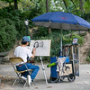 Artist in Central Park