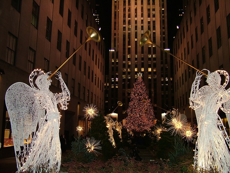 Rockefeller Center - at Christmastime - NYC
