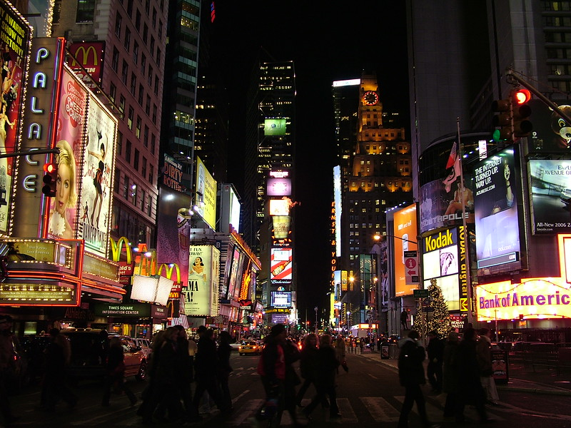 Times Square ~ NYC