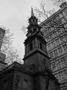 St Paul's Church Ground Zero