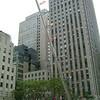 Rockefeller Center ~ Walking To The Sky ~ Art by Jonathan Borofsky