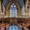 Balliol College Chapel, Oxford, UK.