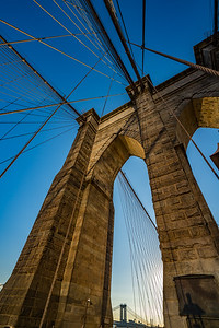 Brooklyn Bridge structure