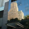reflection on Hilton Hotel  ~ New York City