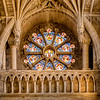 The Becket Window, Christ Church Cathedral, Oxford, UK.