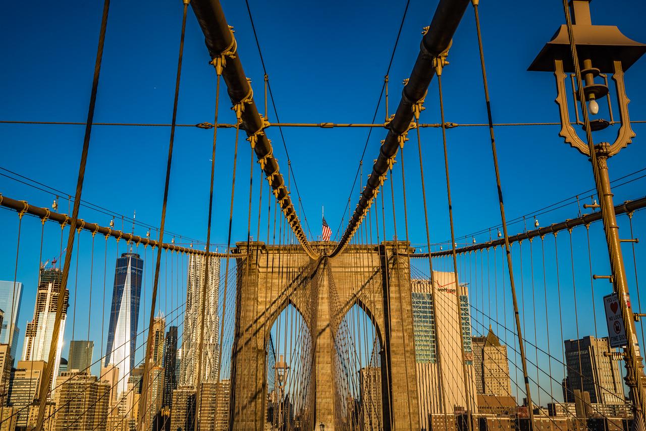Brooklyn Bridge at Sunrise 2