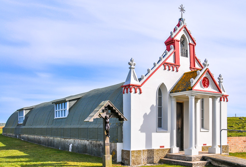The Italian Chapel, Lamb Holm, Orkney Islands