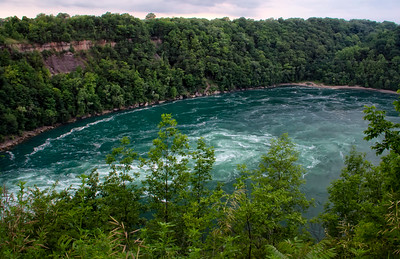 Whirlpool lookout at Niagara Falls