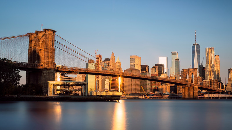 Brooklyn Bridge Sunrise