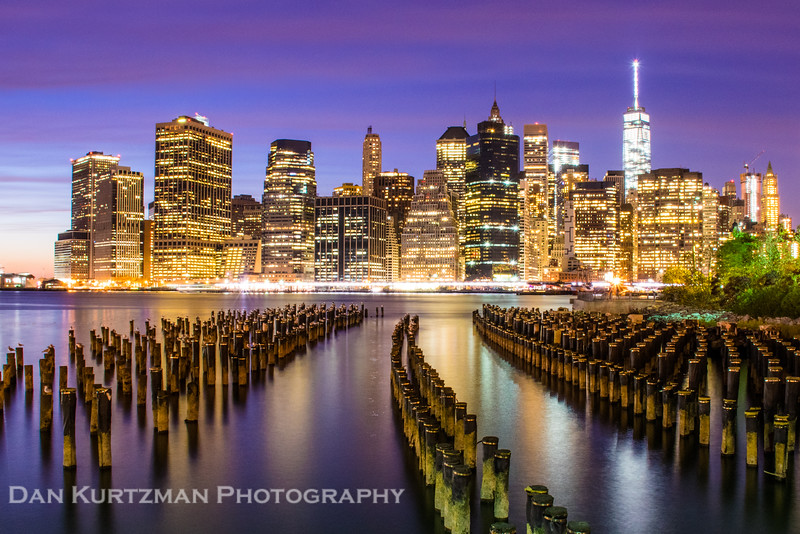 Brooklyn Bridge Park at Twilight