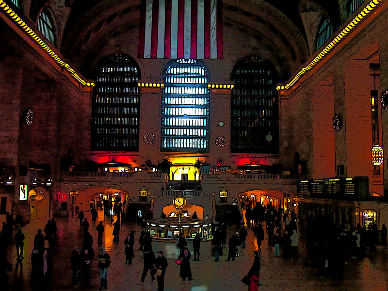 inside Grand Central Station - NYC