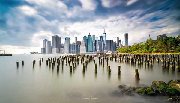 Manhattan by Jean Perrin
