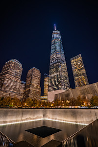 911 memorial and World One Building