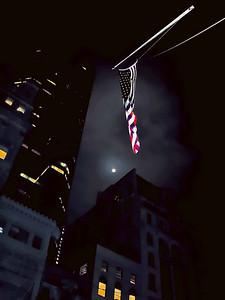 Ground Zero Memorial flag