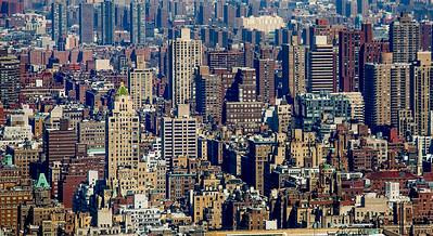 North view over Manhattan
